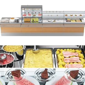 SIFA Lunch bar LT 3d model Download  Buy 3dbrute