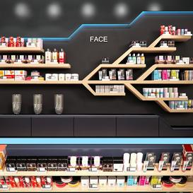 Cosmetics store LT 3d model Download  Buy 3dbrute