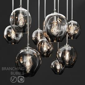 Branching bubble 1 lamp 3d model Download  Buy 3dbrute