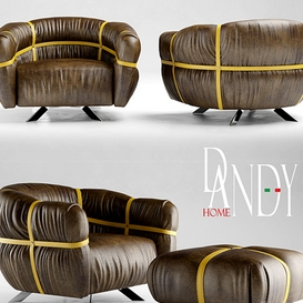 Armchair gamma dandy home CROSSOVER LT 3d model Download  Buy 3dbrute
