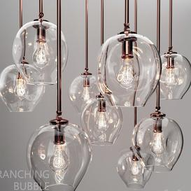 Branching bubble 1 lamp LT 3d model Download  Buy 3dbrute