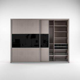 Sliding wardrobe 3d model Download  Buy 3dbrute