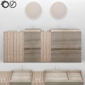 bathroom furniture 4 3d model Download  Buy 3dbrute