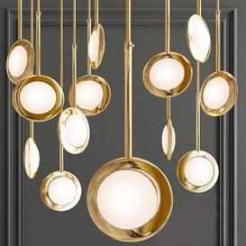 RIM LED PENDANT LIGHT 3d model Download  Buy 3dbrute
