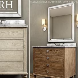 MAISON SINGLE VANITY SINK LT 3d model Download  Buy 3dbrute