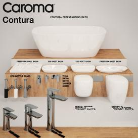 Caroma Contura Collection LT 3d model Download  Buy 3dbrute