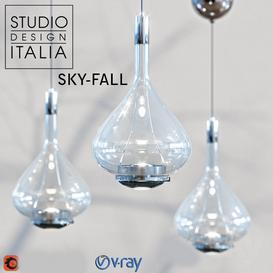 Sky-Fall 3d model Download  Buy 3dbrute