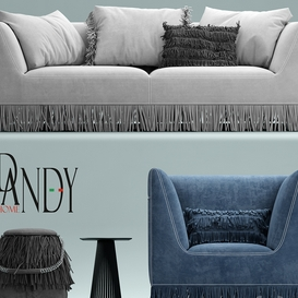 Armchair and Sofa Gamma Marilyn armchair LT 3d model Download  Buy 3dbrute