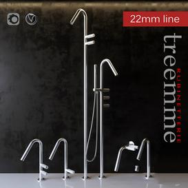 Faucets Rubinetterie Treemme LT 3d model Download  Buy 3dbrute