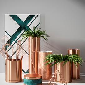 Vase copper 3d model Download  Buy 3dbrute