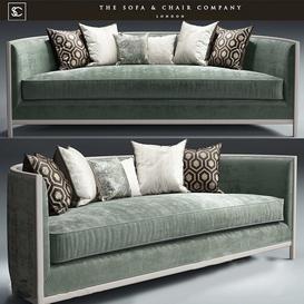 SOPHIA Sofa 3d model Download  Buy 3dbrute