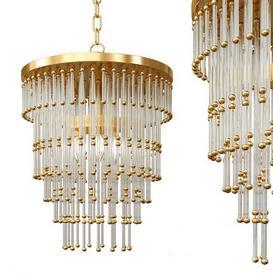 Nordic circular crystal chandelier 3d model Download  Buy 3dbrute