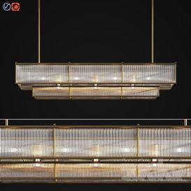 Marais Linear Chandelier 60 3d model Download  Buy 3dbrute
