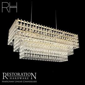 RH Marignan Chandelier 3d model Download  Buy 3dbrute