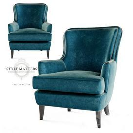 Style Matters - FH 106 Armchair 3d model Download  Buy 3dbrute