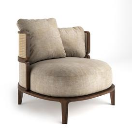 Promenade Lounge Chair 3d model Download  Buy 3dbrute