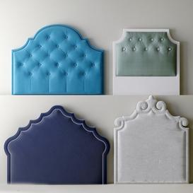 Headboard N18 3d model Download  Buy 3dbrute