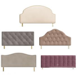 Headboard N19 3d model Download  Buy 3dbrute