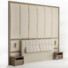 Headboard N9 3d model Download  Buy 3dbrute