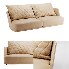 Alberta Grace sofa 3d model Download  Buy 3dbrute