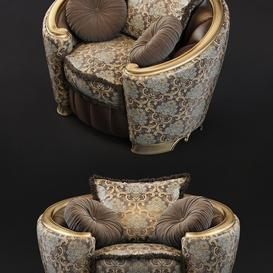 armchair Goldconfort Poltrona 3d model Download  Buy 3dbrute