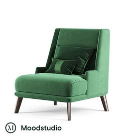 Armchair III   Moodstudio 3d model Download  Buy 3dbrute