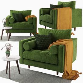 Article-Sven chair 3d model Download  Buy 3dbrute