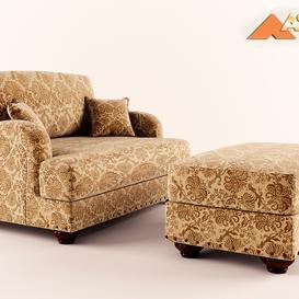 Ashley Furniture - Stansberry - Vintage 3d model Download  Buy 3dbrute