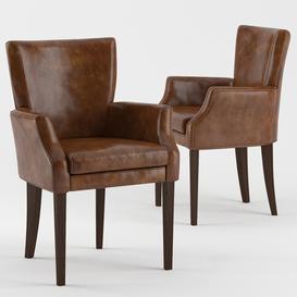 B&B Leather Armchair 3d model Download  Buy 3dbrute