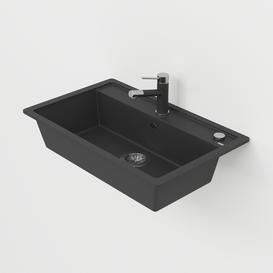 Blanko Dalago Washbasin 3d model Download  Buy 3dbrute
