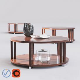 Bolier Atelier Round Cocktail Table 3d model Download  Buy 3dbrute