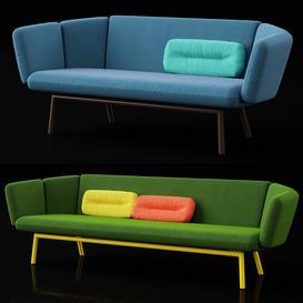 Bras sofas 3d model Download  Buy 3dbrute