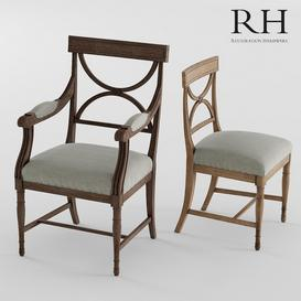 GUSTAVIAN X-BACK CHAIR 3d model Download  Buy 3dbrute