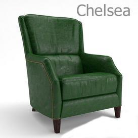 Chelsea armchair 3d model Download  Buy 3dbrute