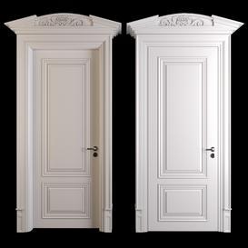 classic door 3d model Download  Buy 3dbrute