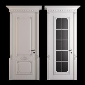 classic door02 3d model Download  Buy 3dbrute