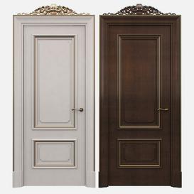 Classic doors 23 3d model Download  Buy 3dbrute
