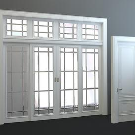 Classic doors 30 3d model Download  Buy 3dbrute