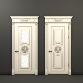 Classic doors Rafael 8 and Rafael 9 3d model Download  Buy 3dbrute