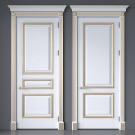 Classic interior doors 52 3d model Download  Buy 3dbrute