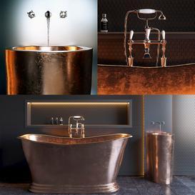 Copper Bath 3d model Download  Buy 3dbrute