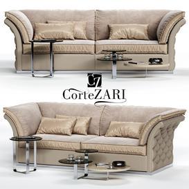 CorteZARI TIAGO Sofa 3d model Download  Buy 3dbrute