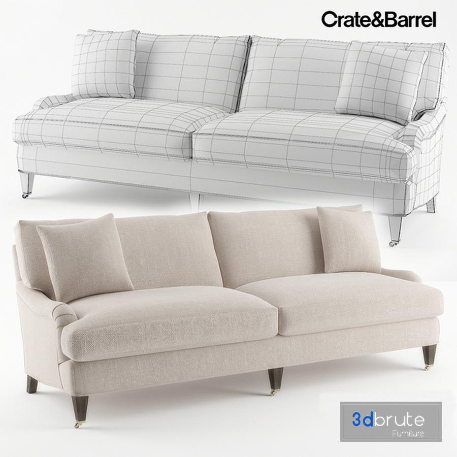 Crate Barrel Es Sofa Model