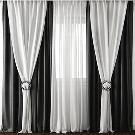 Curtain 21 3d model Download  Buy 3dbrute