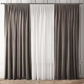 Curtain 83 3d model Download  Buy 3dbrute