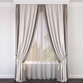 Curtain987 3d model Download  Buy 3dbrute