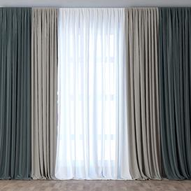 Curtain-28 3d model Download  Buy 3dbrute