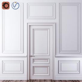 Decorative molding-04 3d model Download  Buy 3dbrute