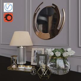 Decorative set 1 3d model Download  Buy 3dbrute