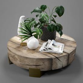 Decorative set054 3d model Download  Buy 3dbrute